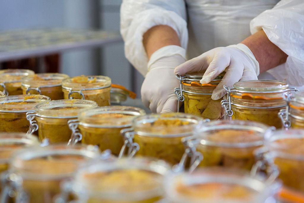 Canard à foie gras du Périgord