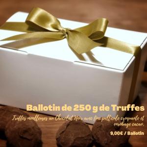 Ballotin de Truffes au Chocolat