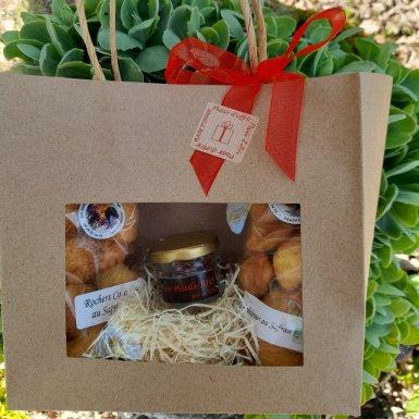 Pochette Douceurs Safranées - Les Jardins Gourmands de La Tourouge