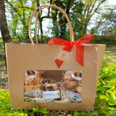 Pochette Gourmandises Safranées - Les Jardins Gourmands de La Tourouge