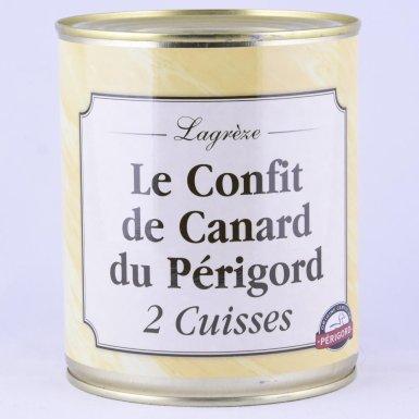 Confit de canard du Périgord - Conserverie Lagrèze