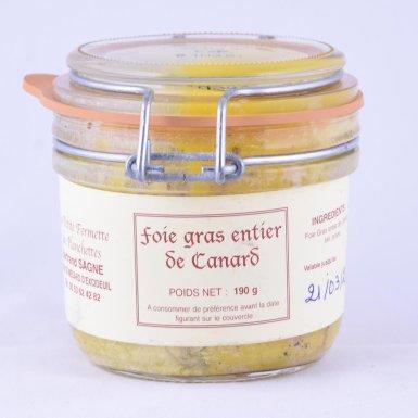 Foie gras entier de canard - Fermette des Planchettes