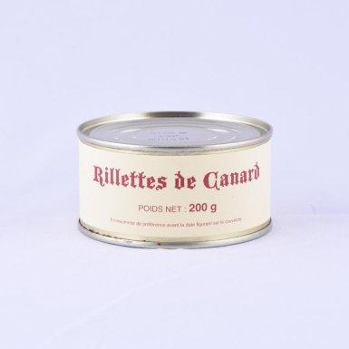 Rilettes de canard (lot de 2) - Fermette des Planchettes