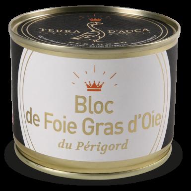 Bloc de foie gras d'oie du Périgord 200g - Terra d'Auca