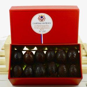 Pruneaux d'Agen mi-cuits - chocolat noir et 5 poivres