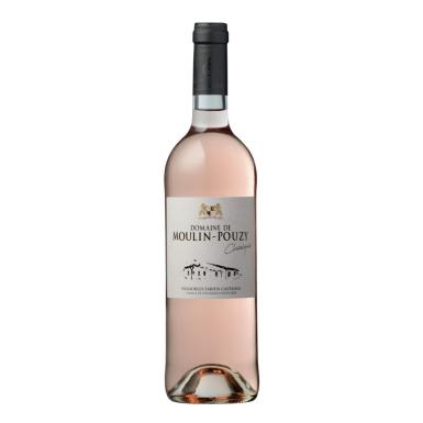 Domaine de Moulin-Pouzy Classique AOC Bergerac rosé 2020 - Vignobles Fabien Castaing