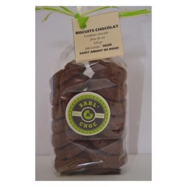 Biscuits chocolat - Sabl' & Croc