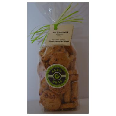 Salés quinoa - Sabl' & Croc