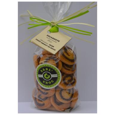 Escargots vanille chocolat - Sabl' & Croc
