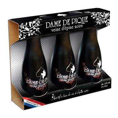 Dame de Pique – Veine d'épine noire VS 3x15cl - Maison Dâme & Djin Spirits