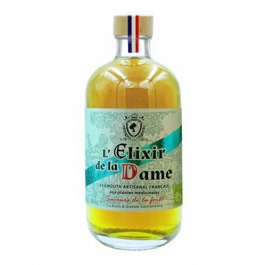 L'Elixir de la Dame – vermouth artisanal sec d'hiver : la forêt - Maison Dâme & Djin Spirits