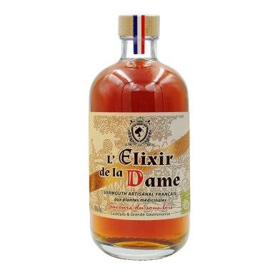 L'Elixir de la Dame – vermouth artisanal demi-sec d'automne : le sous-bois - Maison Dâme & Djin Spirits