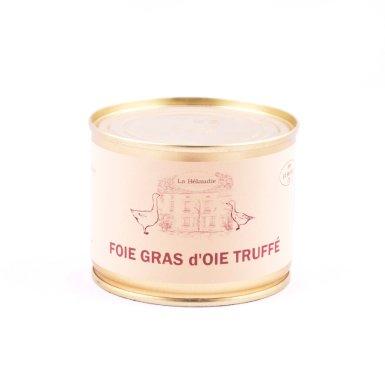 Foie gras d'oie truffé - La Bélaudie Havard