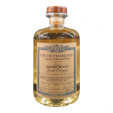 GIN DE CHARENTE Cognac Daniel bouju casks rested - Cognac Daniel Bouju