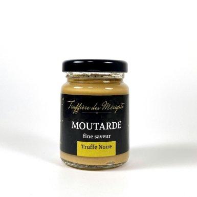 Moutarde fine saveur truffe noire - La truffière des Mérigots