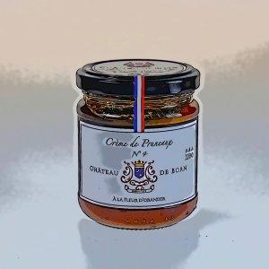 Crème de pruneaux mi-cuits à la Fleur d'Oranger