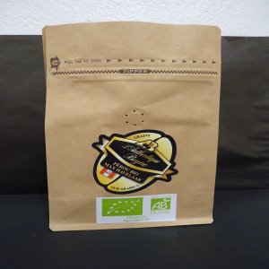 Café Bio Pérou Pur Arabica 250 g en grains