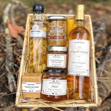 Panier Extra des produits de la ruche - Apisphère