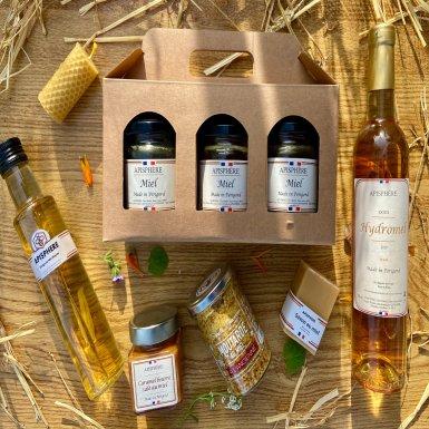 La box Exception des produits de la ruche  - Apisphère