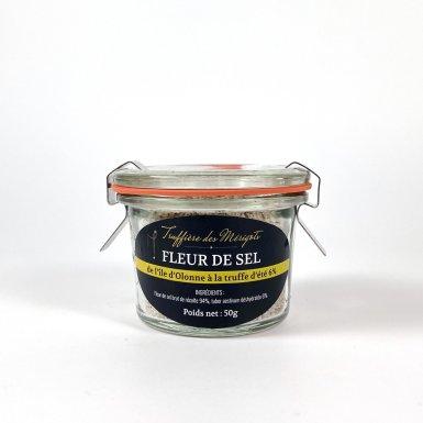 Fleur de sel à la truffe d'été 6% - La truffière des Mérigots