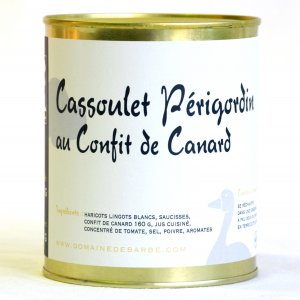 Cassoulet Périgordin au confit de canard