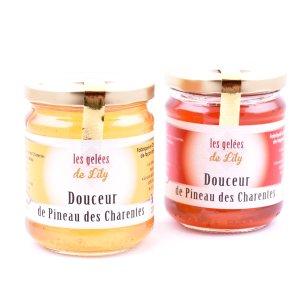Douceur de pineau blanc et douceur de pineau rouge (200 ml)