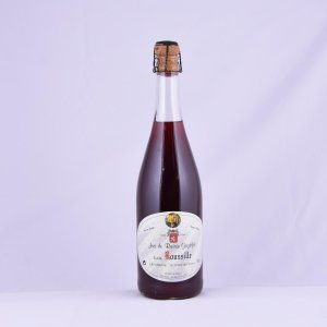 Jus de raisin gazéifié blanc ou rosé