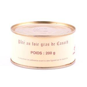 Boîte de pâté au foie gras