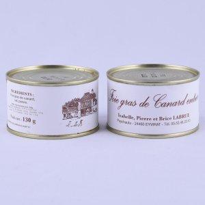 Foie gras entier 130g