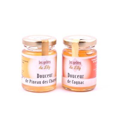 Douceur de pineau blanc et douceur de cognac (100 ml) - Les Gelées de Lily