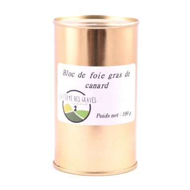 Bloc de foie gras - Ferme des Graves