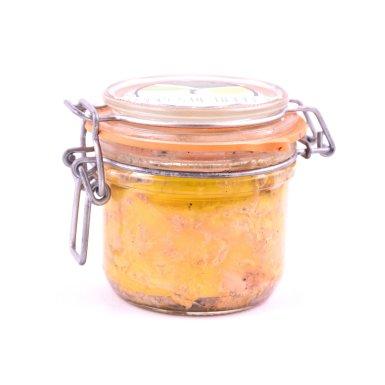 Verrine de foie gras mi-cuit - Ferme des Graves