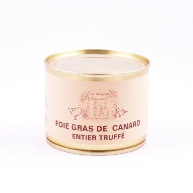 Foie gras de canard truffé - La Bélaudie Havard