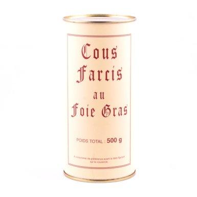 Boîte de cous farcis au foie gras de canard - Fermette des Planchettes