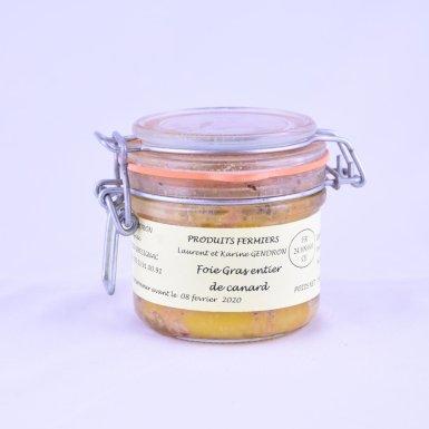Foie gras entier de canard - Ferme Gendron