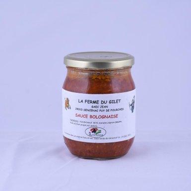 Sauce bolognaise - Ferme du Gilet - GAEC Jean