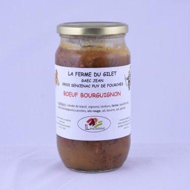 Bœuf bourguignon - Ferme du Gilet - GAEC Jean