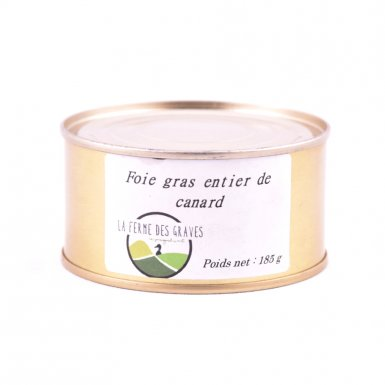 Foie gras entier - Ferme des Graves