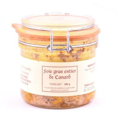 Bocal de foie gras entier de canard - Fermette des Planchettes