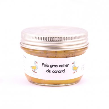 Foie gras entier de canard - La Ferme de la Majeunie