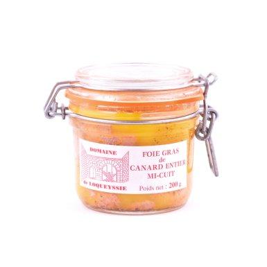 Foie gras de canard entier mi-cuit (disponible du 15 novembre à fin mai) - Domaine de Loqueyssie