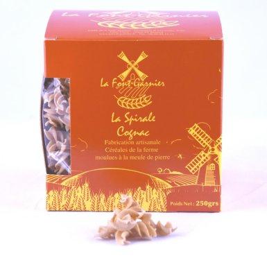 """Pâtes artisanales """"spirale"""" au cognac - La Font-Garnier"""