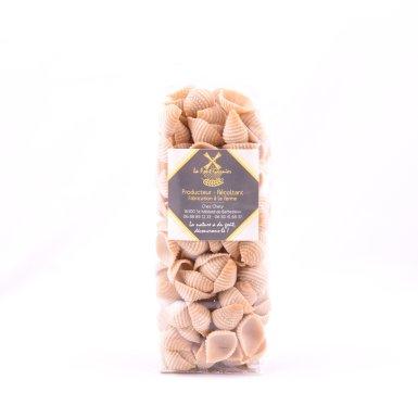 Pâtes artisanales - La coquille nature - La Font-Garnier