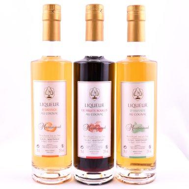 Liqueurs au cognac - Distillerie Martinaud