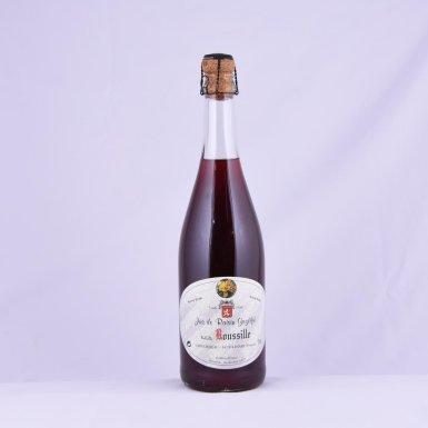 Jus de raisin gazéifié blanc ou rosé - Maison Roussille