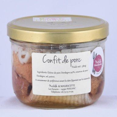 Confit de porc de Dordogne - pour 2 - Mathilde & Mauricette