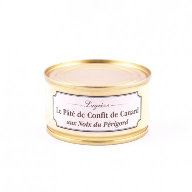 Pâté au confit de canard et noix du Périgord - Conserverie Lagrèze