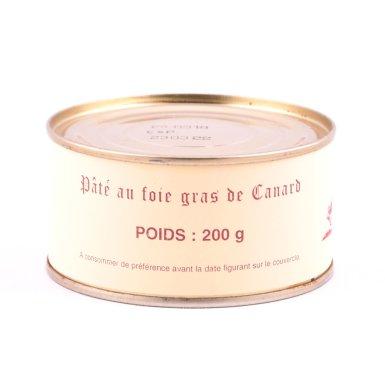 Boîte de pâté au foie gras - Fermette des Planchettes
