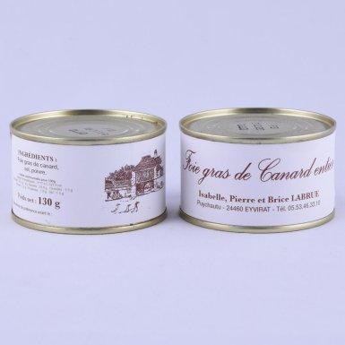 Foie gras entier 130g - Ferme Labrue