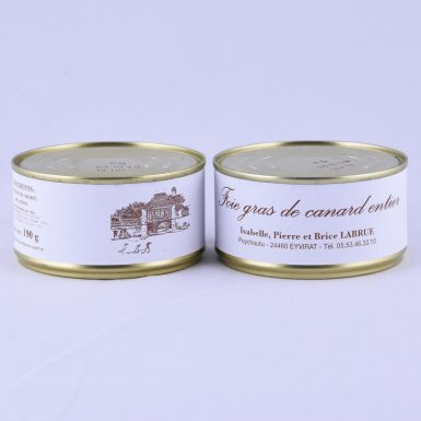 Foie gras entier 190g - Ferme Labrue